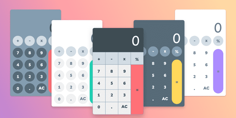 In this article I walk you through the CSS side of creating a calculator. We will look at a few different designs and how to create each one.